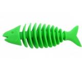 Sum-Plast Guma Ryba kostra s vôňou vanilky hračka pre psov viac farieb 14 cm