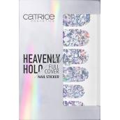 Catrice Heavenly Holo Full Cover Nail Sticker nálepky na nehty 01 Xoxo Holo 1 aršík