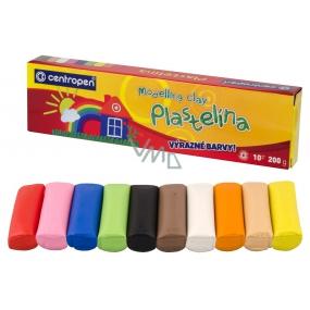 Centropen Školní plastelína 10 kusů 200 g