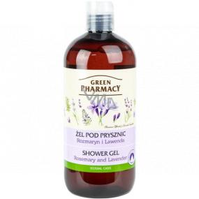 Green Pharmacy Rozmarín a levandule sprchový gél 500 ml