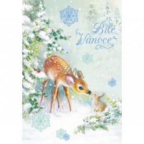 Ditipo Hracie želanie Biele Vianoce srnečka so zajačikom Karel Gott Biele Vianoce 224 x 157 mm