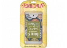 Albi Dezinfekcia do vrecka s vôňou citrónu Pre teba 15 ml