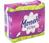 Ria Moneta Ultra Night intimní vložky s křidélky 8 kusů