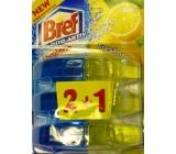 Bref Duo Aktiv Extra Clean & Fresh Lemon Wc gel náhradní závěs 3 x 60 ml