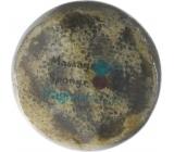 Fragrant Cherub Glycerinové mýdlo masážní s houbou naplněnou vůní parfému Thierry Mugler Angel v barvě tmavě modré 200 g