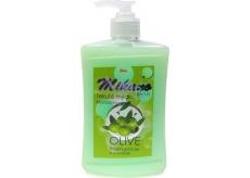Mika Mikano Beauty Olive tekuté mýdlo s dávkovačem 500 ml