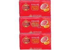 Cussons Imperial Leather Revitalising Grapefruit & Orange toaletní mýdlo 3 x 100 g