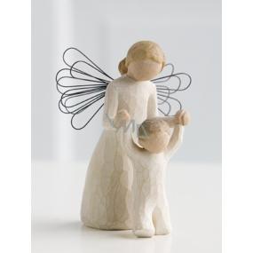 Willow Tree - Strážny anjel - Majte nad sebou vždy Vášho Anjela strážneho Figúrka anjela Willow Tree, výška 12,5 cm.