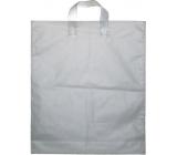 Press Igelitová taška bílá s uchem 45 x 38 cm 1 kus