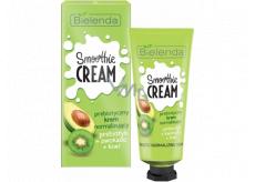 Bielenda Smoothie Cream Avokádo + Kiwi + Probiotiká normalizujúci krém na tvár a dekolt 50 ml