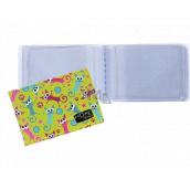 Albi Puzdro na vizitky, karty švihnutý mačky 9,5 x 7 cm