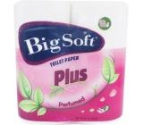 Big Soft Plus parfumovaný 2 vrstvový 4 x 160 útržkov