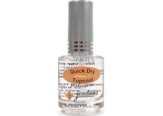 Jordana Lak na nechty rýchlo sušiace Quick Dry Topcoat 406 15 ml
