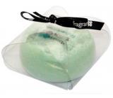 Fragrant Olive Garden Glycerinové mýdlo masážní s houbou naplněnou vůní a esencemi zelených oliv v barvě zelené 200 g