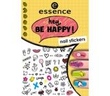 Essence Nail Art Hey, Be Happy! nálepky na nechty 05 1 aršík