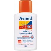 Astrid F10 Mléko na opalování 200 ml