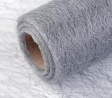 Ditipo Stuha pavučinka tmavě stříbrná 2 m x 75 mm 2817906