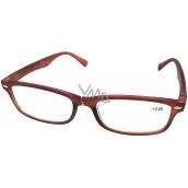 Berkeley Čtecí dioptrické brýle +2,0 hnědé mat 1 kus MC2 ER4040