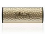 Millefiori Icon Incense & Blond Woods - Kadidlo a světlá dřeva Vůně do auta Metal zlatá voní až 2 měsíce 47 g