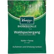 Kneipp Prechádzka lesom soľ do kúpeľa, nadýchnite sa a načerpajte pohodu 60 g