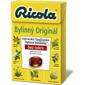 Ricola Original švajčiarske bylinné cukríky bez cukru s vitamínom C z 13 bylín 40 g