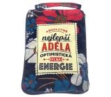Albi Skladacia taška na zips do kabelky s menom Adela rozmer: 42 cm × 41 cm × 11 cm
