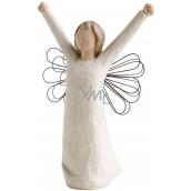 Willow Tree - Anjel odvaha - Prináša ducha víťazstva, inšpirácie a odvahy Figúrka anjela Willow Tree, výška 15 cm