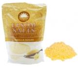 Elysium Spa Vanilkový cukor relaxačná soľ do kúpeľa s prírodným magnéziom a esenciálnymi olejmi 450 g