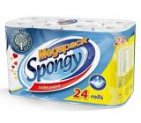 Almus Spongy Megapack toaletný papier biely 2 vrstvový, návin 16 m, 24 kusov