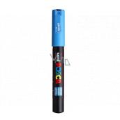 POSCO Univerzálny akrylátový popisovač 0,7 mm Svetlo modrá