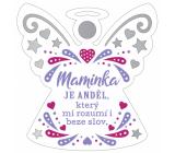 Albi Závesná plaketka anjelik Mamička 9 x 10 cm