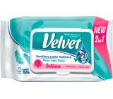 Velvet Intima 2v1 vlhčený toaletný papier 42 kusov