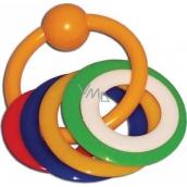 Plastic Nova Hryzenie krúžky pre deti od 0 mesiacov