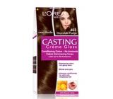 Loreal Paris Casting Creme Gloss barva na vlasy 403 intenzivní čokoládová