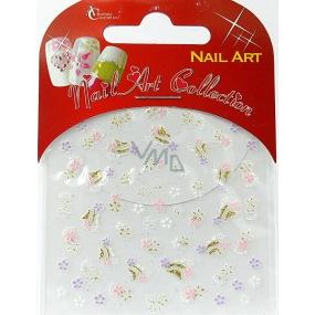 Absolute Cosmetics Nail Art samolepiace nálepky na nechty S3D024 1 aršík