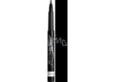 Rimmel London Scandaleyes Thick & Thin Eyeliner Waterproof oční linky ve fixu Black 1,1 ml