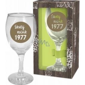 Albi Môj Bar Pohár na víno 1977 220 ml