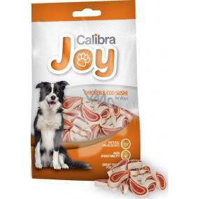 Calibra Joy Kuracie mäso & treska Sushi doplnkové krmivo pre psov 80 g