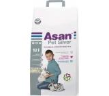 Asan Pet Silver stelivo pre zakrpatené králiky a hlodavce 12 l