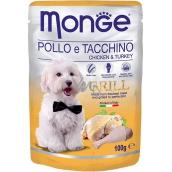 Monge Dog Grill kura, morka kapsička 100 g