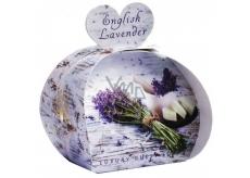 English Soap Anglická Levandule Přírodní parfémované mýdlo s bambuckým máslem 3 x 20 g