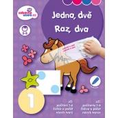 Ditipo Stierateľný zošit Jedna, dve pre deti 3-5 rokov 16 strán 215 x 275 mm