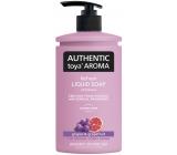 Authentic Toya Aroma Grapes & Grapefruit tekuté mýdlo dávkovač 400 ml