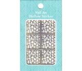 Nail Accessory Hollow Sticker šablónky na nechty multifarebné abstrakcie 1 aršík 129