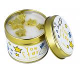 Bomb Cosmetics Si hviezda - You Star Vonná prírodné, ručne vyrobená sviečka v plechovej dóze horí až 35 hodín