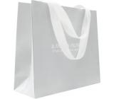 Jeanne En Provence Darčeková papierová taška 33 x 24 x 10 cm Sivá