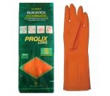 Bartoň Prolix Rukavice gumené ochranné veľkosť S 1 pár
