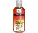 Bione Cosmetics Bio Arganový olej se silikonem na tmavé vlasy 80 ml