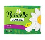 Naturella Classic Maxi hygienické vložky s vôňou harmančeka a krídelkami 8 kusov