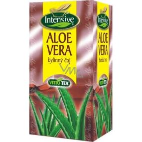 Vitto Tea Intensive Aloe Vera bylinný čistiaci čaj nálevové sáčky 20 x 1,5 g